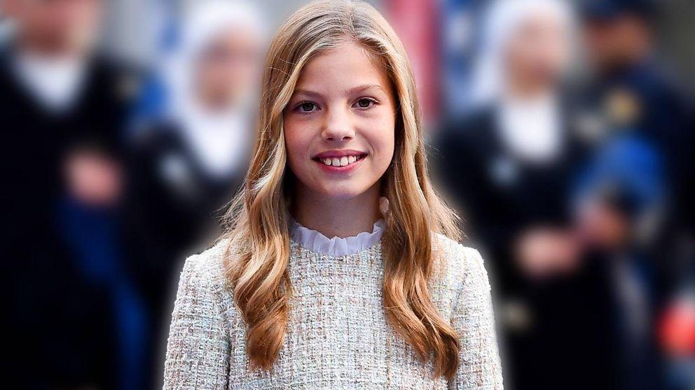 La infanta Sofía, mucho más que la escudera de Leonor: su gran debut de hoy