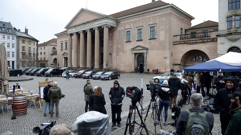 Foto: Juicio contra el acusado de la muerte de una periodista en un submarino
