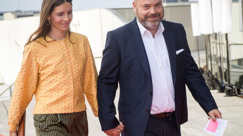 Anders Holch Povlsen y su esposa Anne,  en una imagen de archivo. (Ritzau Scanpix)