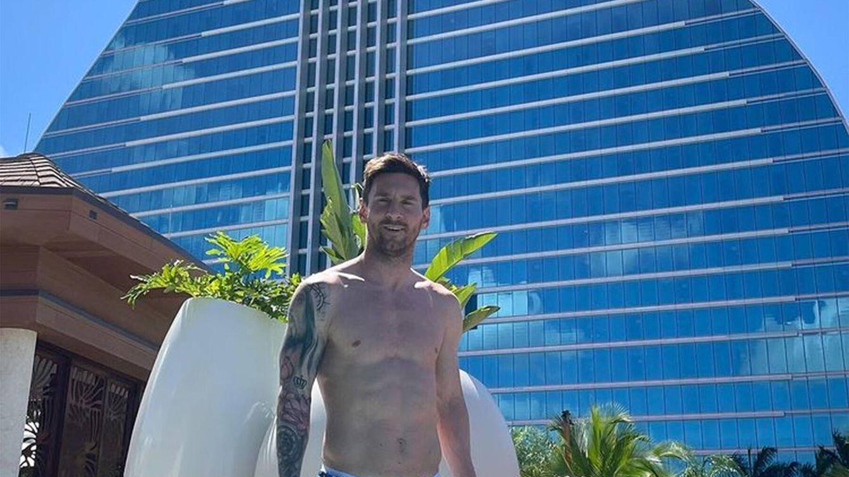 Casino, piscina privada y más de 700 euros por noche: así es el lujoso hotel donde se alojan Messi y su familia