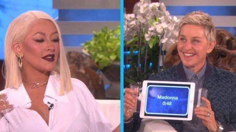 Christina Aguilera imita a sus rivales: Madonna, Katy Perry o Whitney Houston