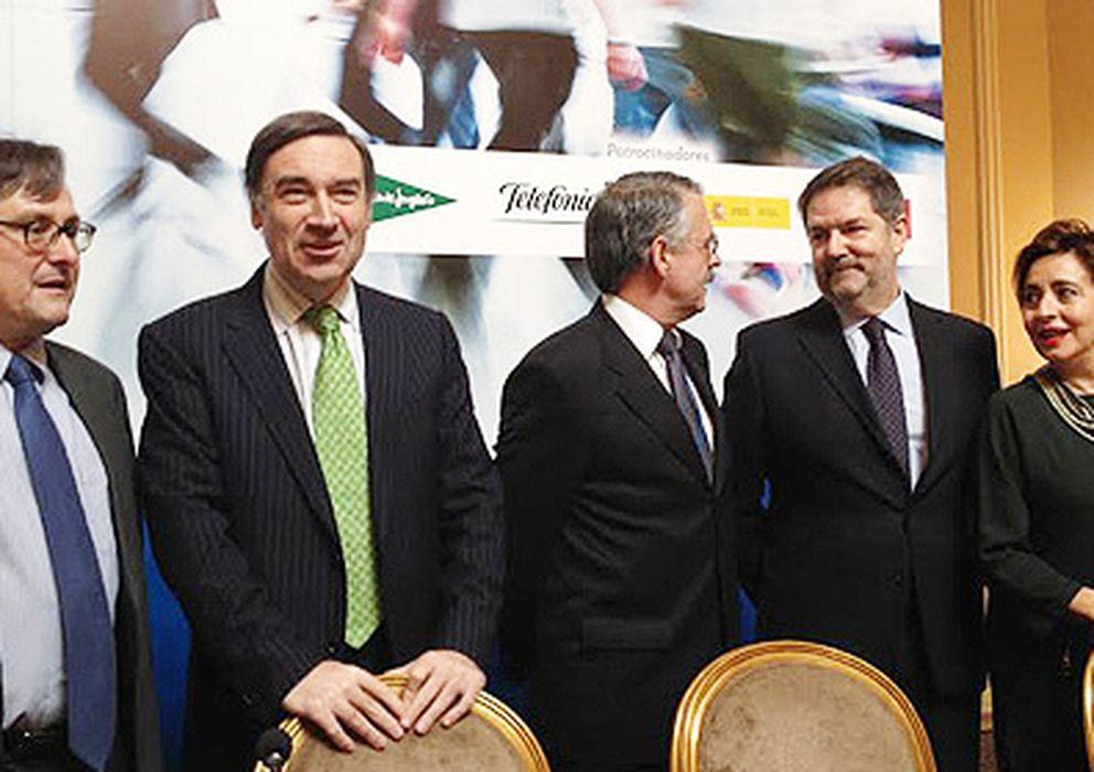 Foto: Discurso de Pedro J. en la Asociación de Editores de Diarios Españoles (diciembre de 2013)