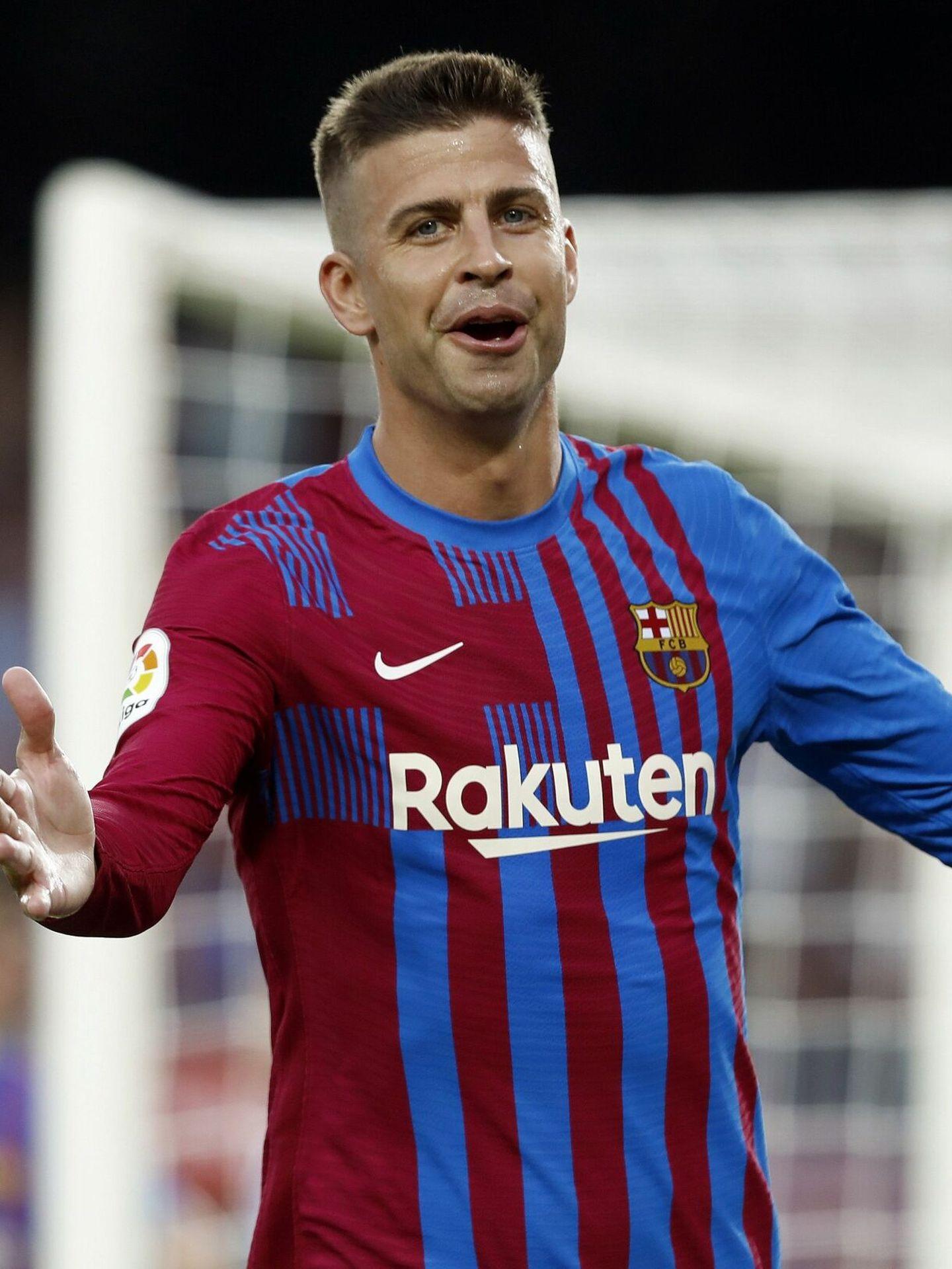 El defensa del FC Barcelona Gerard Piqué, durante un partido. (EFE)