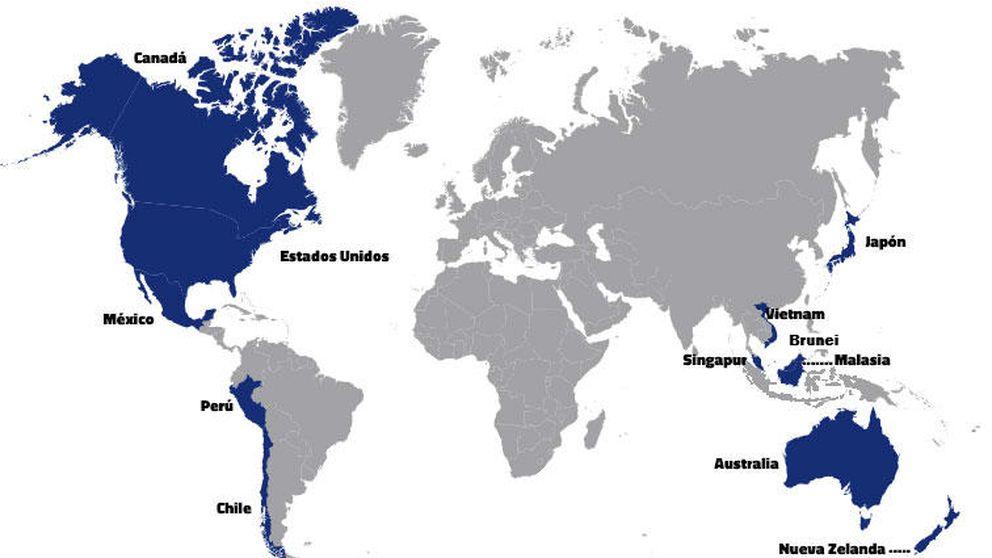 EEUU cierra con 11 países el mayor acuerdo comercial de la historia