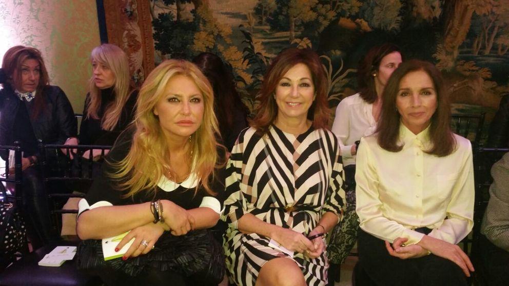 Ana Belén, Ana Rosa y Ana Gamazo, tres 'Anas' en la embajada francesa
