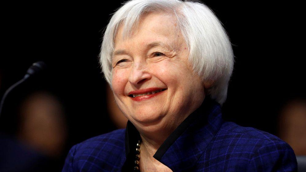 Foto:  La presidenta de la Reserva Federal Estadounidense, Janet Yellen