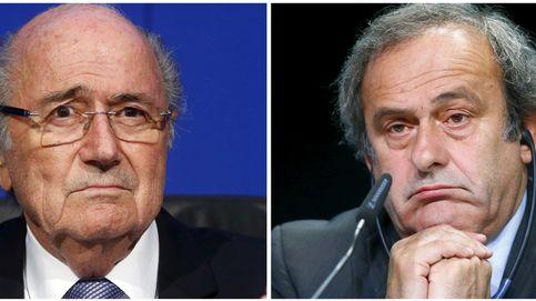 Confiscan documentos sobre la colaboración de Platini y Joseph Blatter en París