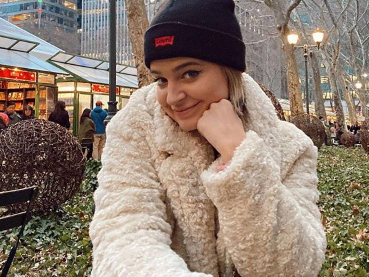 Foto: La influencer, en su reciente viaje a Nueva York. (Instagram @lauraescanes)