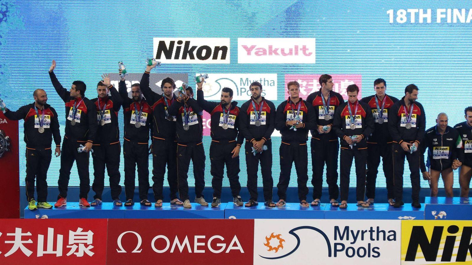 Foto: España ha obtenido la plata en el Mundial de waterpolo. (Imago)