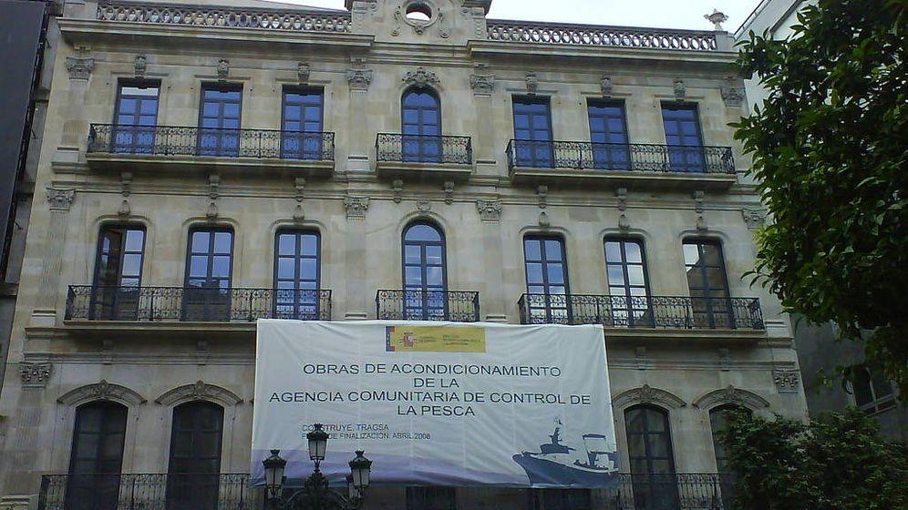 Foto: Reconstrucción de la fachada del edificio Odriozola. (EFE)