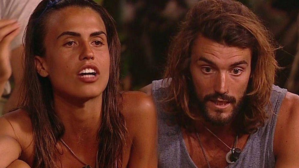 Foto: Sofía y Logan, en 'Supervivientes' (Telecinco)