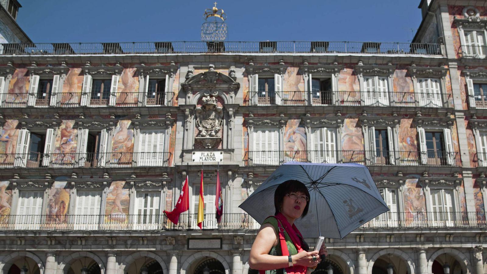 Foto: Plaza Mayor de Madrid (Reuters).