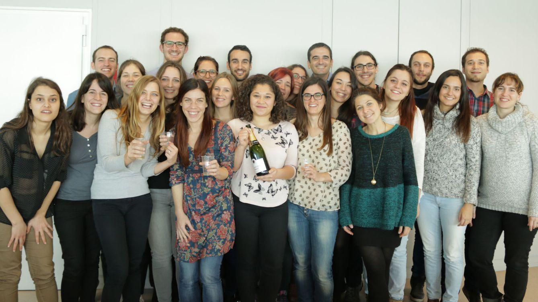 Foto: Los felices empleados de Cyberclick Group.