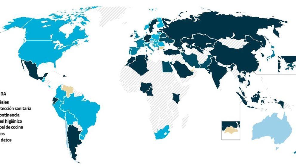 El mapa mundial de la higiene