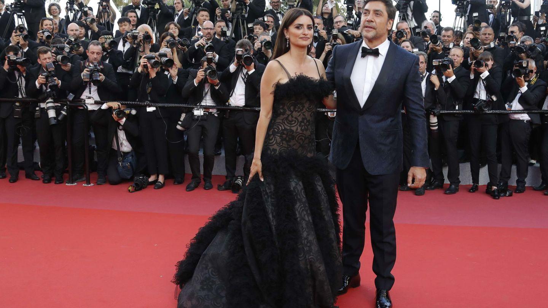 Penélope Cruz y Javier Bardem, en la alfombra roja de Cannes. (Reuters)