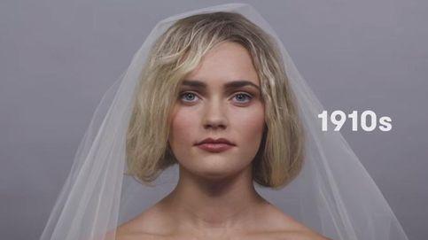 Así se habría peinado Claudia Schiffer si hubiera nacido en 1910