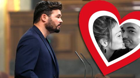 Rufián fuera del Congreso: enamorado, padre y con hipoteca