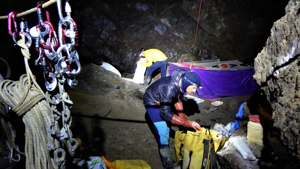 Foto: La vida en una de las simas más profundas del mundo