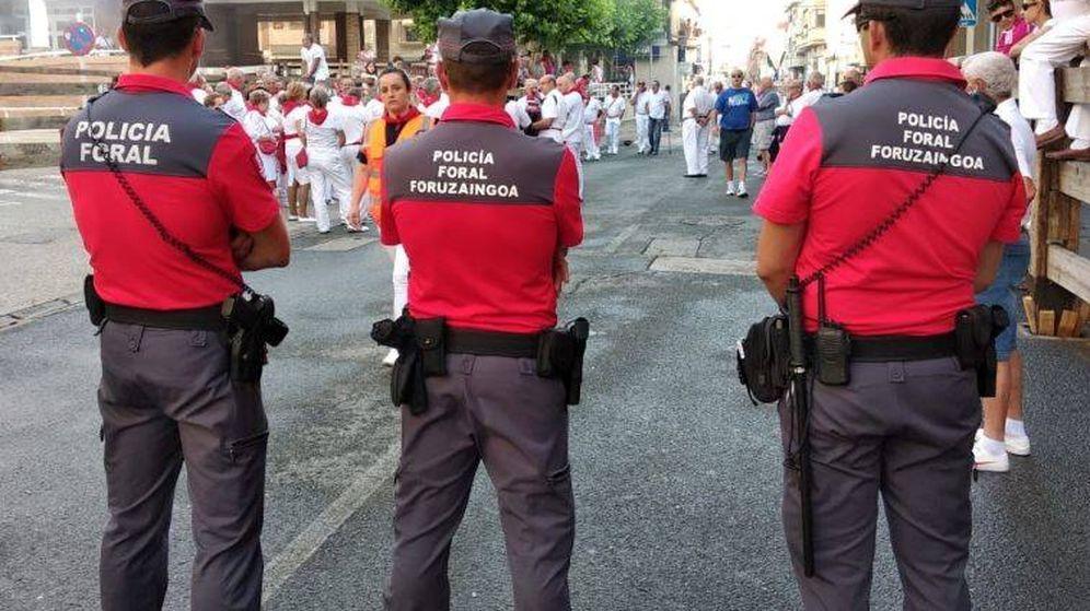 Foto: Detenido el presunto autor de una agresión sexual en los sanfermines. (Policía Foral-Foruzaingoa)