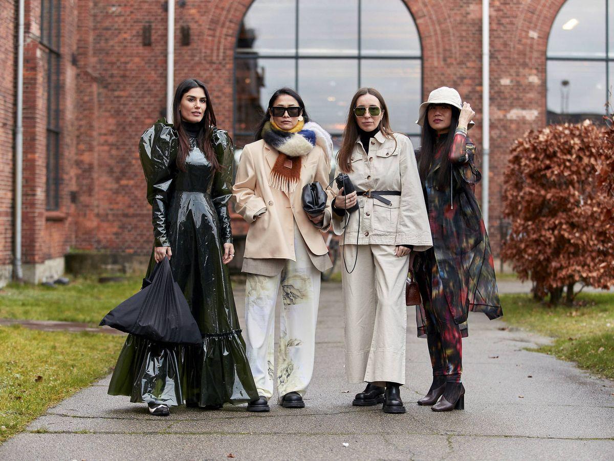 Foto: Un grupo de insiders en las calles de Copenhague. (Imaxtree)