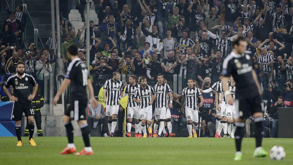 Las mejores imágenes de la semifinal Juventus-Real Madrid