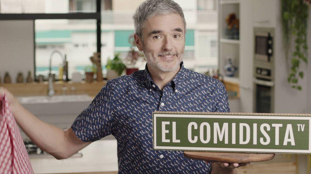 Foto: Mikel López Iturriaga, el rostro de 'El Comidista TV'. (Atresmedia TV)