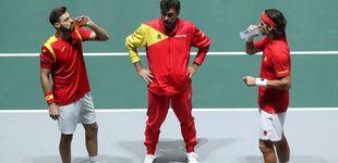 Post de España - Croacia de Copa Davis en directo: intrascendente dobles para cerrar el duelo