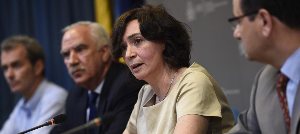 Foto: Mercedes Vinuesa, directora general de Salud Pública (EFE)