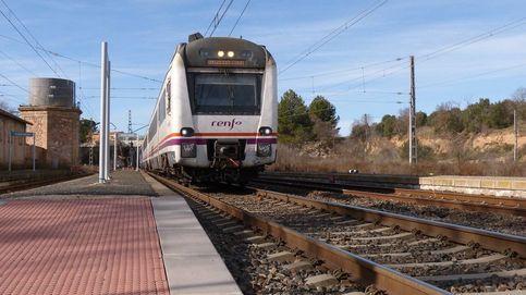 Descarrila el último vagón de un tren de mercancías en Albacete
