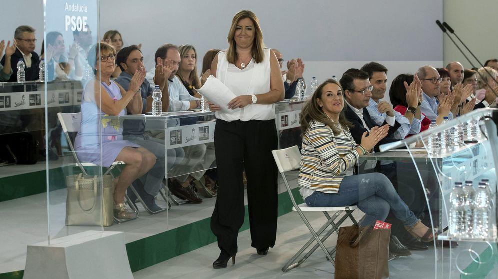 Foto: Susana Díaz en el comité director del PSOE en Sevilla. (EFE)