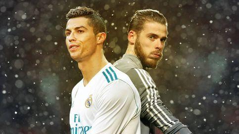 Florentino se plantea el trueque De Gea por Cristiano Ronaldo