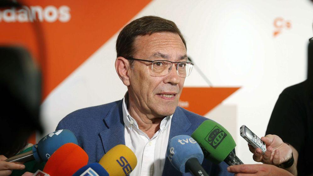 Foto: El candidato de Ciudadanos en el Principado de Asturias, Juan Vázquez. (EFE)