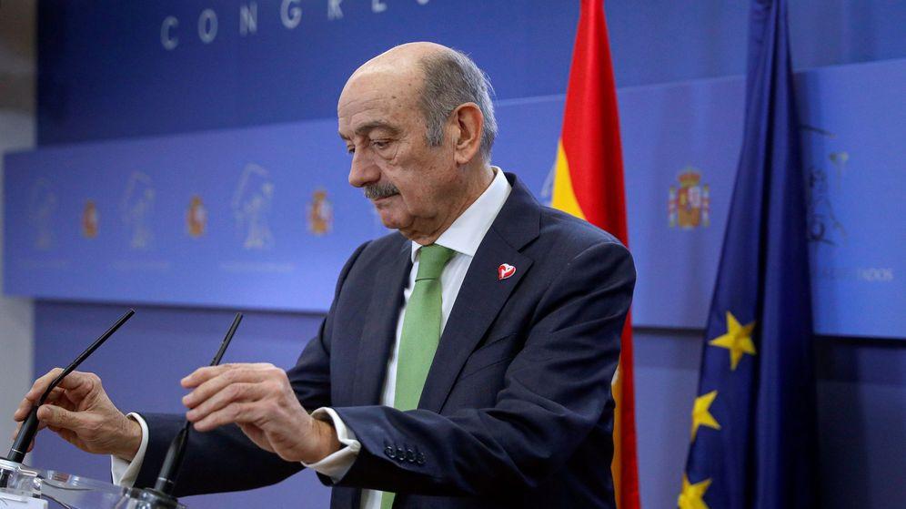 Foto: El diputado del Partido Regionalista de Cantabria, José María Mazón. (EFE)