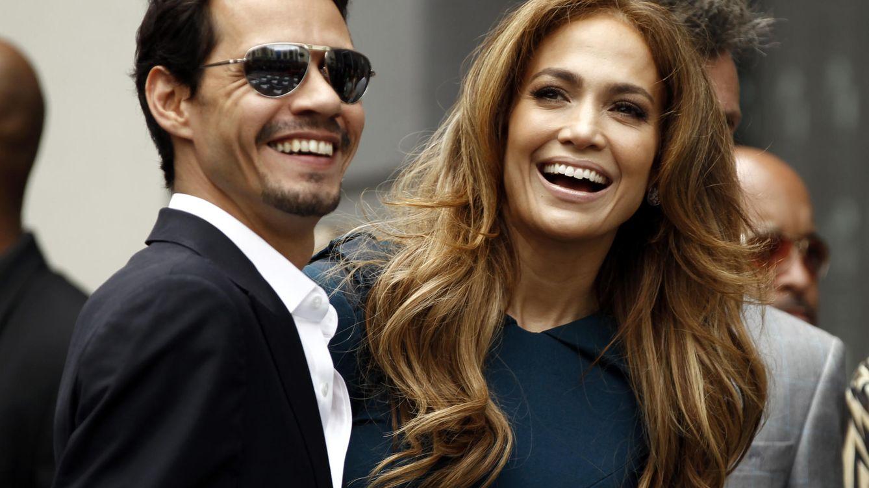 Foto: Marc Anthony y Jennifer Lopez en una imagen de archivo (Gtres)