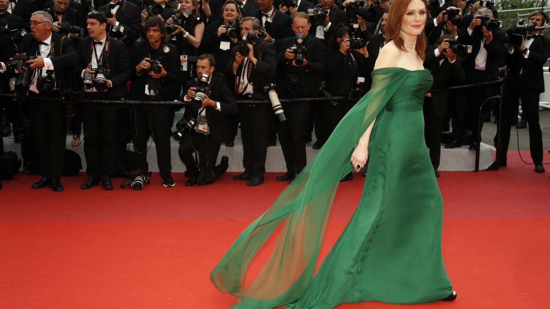 Julianne en la alfombra roja de Cannes (REUTERS Eric Gaillard)