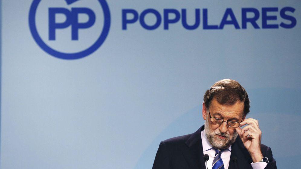 Foto: El líder del PP, Mariano Rajoy, en una rueda de prensa. (EFE)