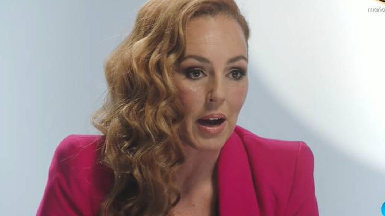Rocío Carrasco, en 'Rocío, seguir viva'. (Mediaset)