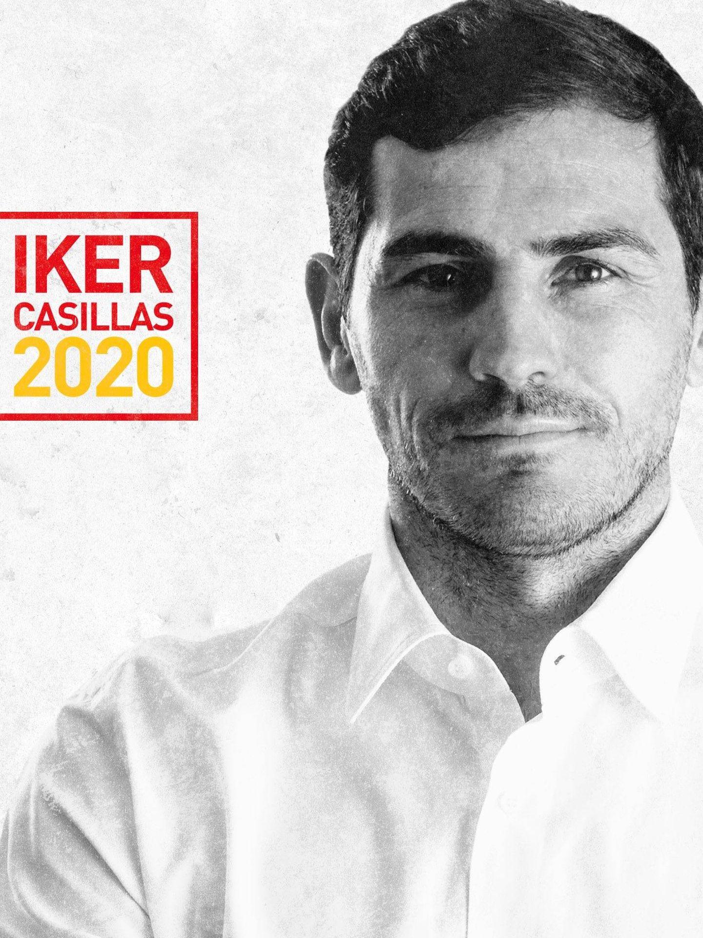 Imagen de la candidatura de Iker Casillas a la presidencia de la RFEF.