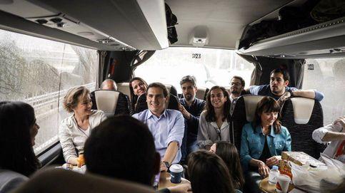 De caravana con Rivera: charla, galletas y cita con las Sorayas en Valladolid