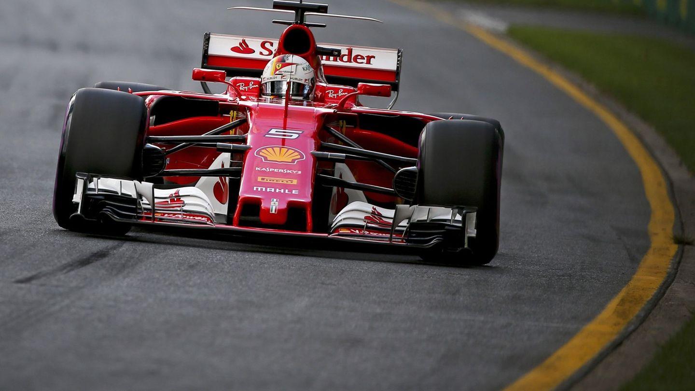 Ferrari está refrendando en Australia su buena pretemporada. (EFE)