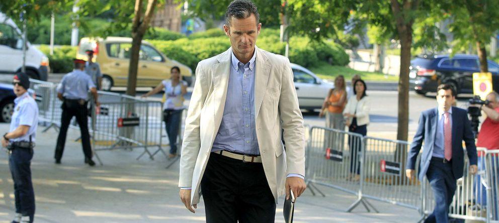 Foto: Fotografía de archivo de Iñaki Urdangarin a su llegada a la Ciudad de la Justicia de Barcelona. (EFE)