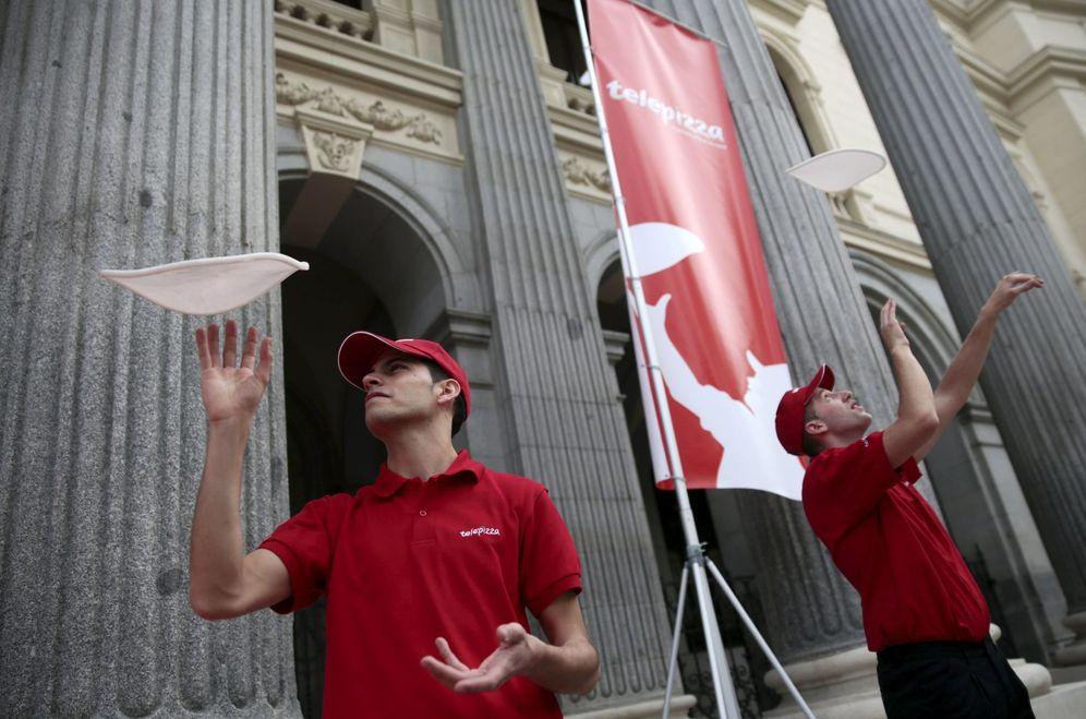 Foto: La caída del beneficio de Telepizza asusta a los inversores. (Reuters)
