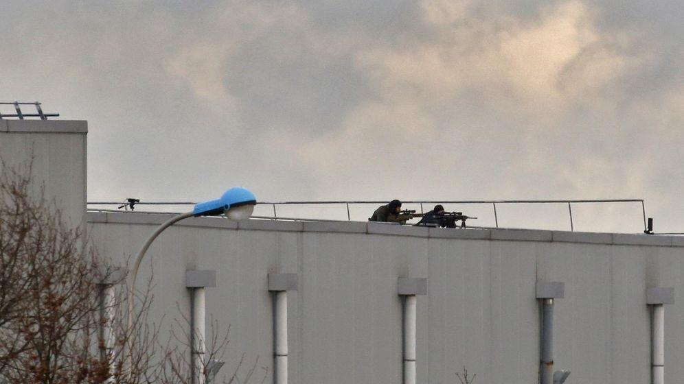Foto: La policía francesa mata a los Kouachi