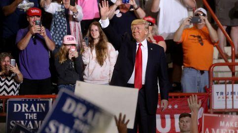 Trump se jacta de sus 100 días productivos con un plantón y ataques a la prensa