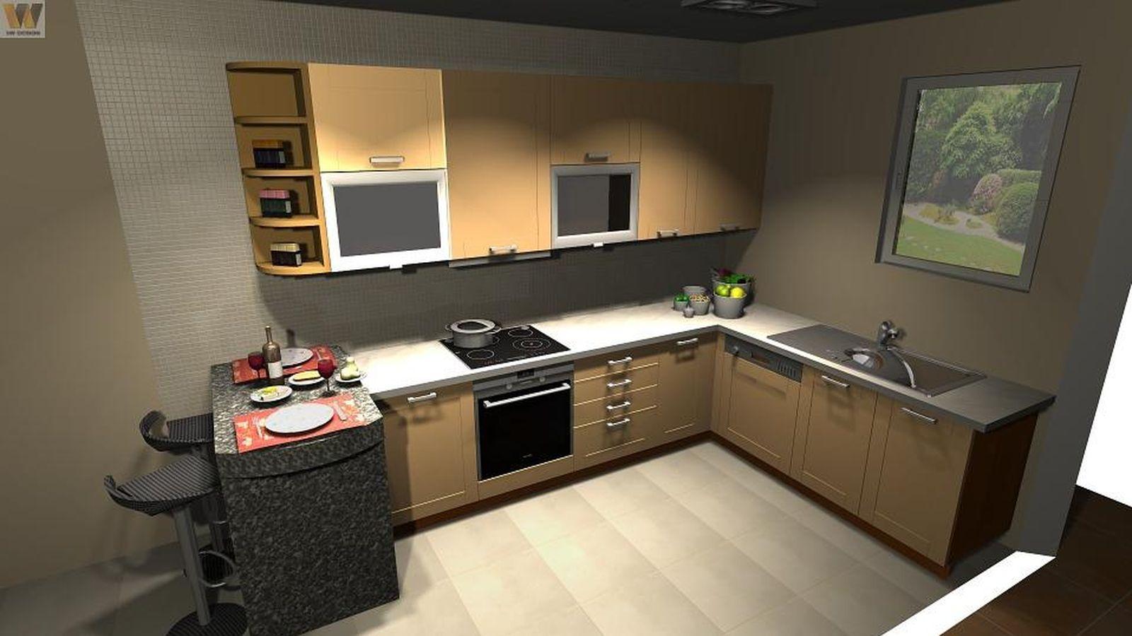 Foto: Diseño de una cocina. (CC/Pixabay/svabic)