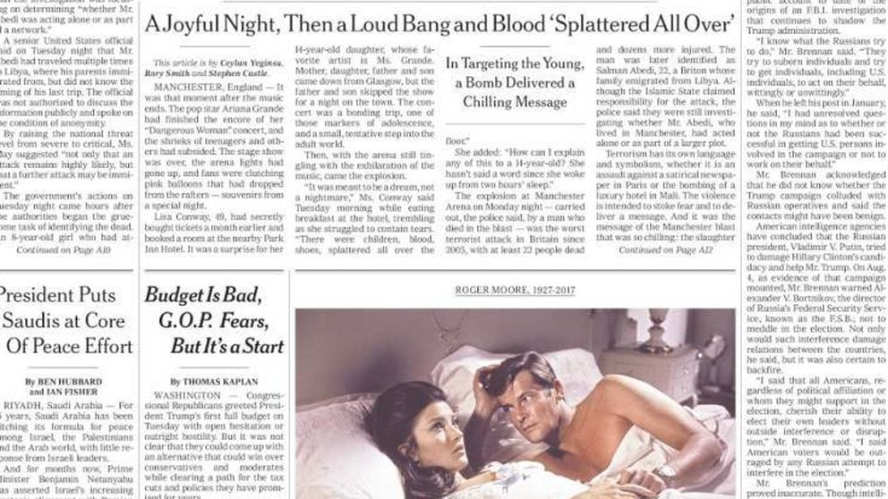 El atentado de Mánchester durante el concierto de Ariana Grande, en la prensa internacional