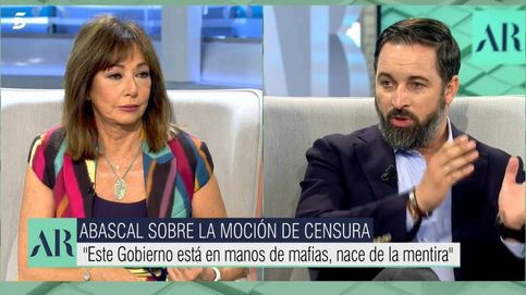 No es moral: Ana Rosa, obligada a frenar en seco el discurso de Abascal