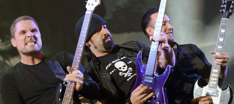 Foto: Volbeat en Rock in Pott (EFE)