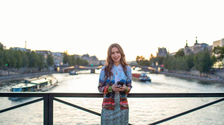 Lily Collins, en 'Emily in Paris'. (Netflix / Cordon Press)