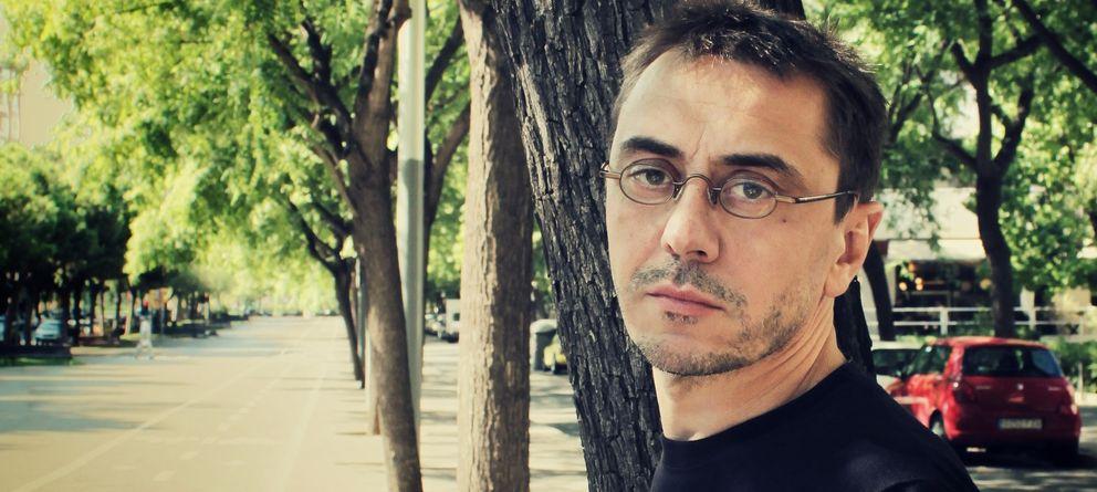 Foto: Juan Carlos Monedero, politólogo, profesor en la Complutense y miembro de Podemos. (Elena Blanco)